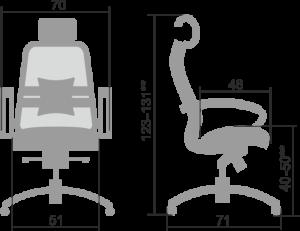 SAMURAI SL-2.04 размер
