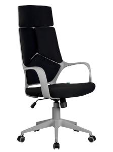 Кресло RCH 8989 серый пластик, черная ткань (1)