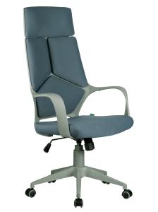 Кресло RCH 8989 серый пластик, серая ткань (1)