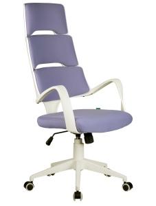 Кресло RCH Sakura белый пластик, лиловая ткань  (1)