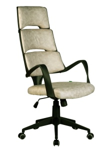 Кресло RCH Sakura черный пластик, ткань фьюжн пустыня Сахара(1)