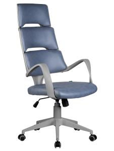 Кресло RCH Sakura серый пластик, ткань фьюжн Альпийское озеро (1)
