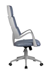 Кресло RCH Sakura серый пластик, ткань фьюжн Альпийское озеро (3)