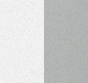 Белый + каркас серебро