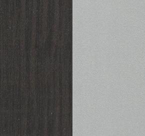 Венге + каркас серебро