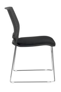 D918B  черная спинка черное сиденье (3)