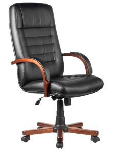 Кресло М155А Laguna Тай  Черная экокожа (1)