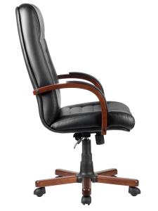 Кресло М155А Laguna Тай  Черная экокожа (3)