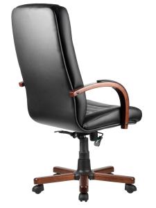 Кресло М155А Laguna Тай  Черная экокожа (4)